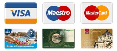 Bankkártya elfogadó hely